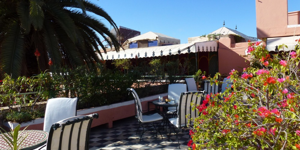 Terrasse hotel gallia marrakech