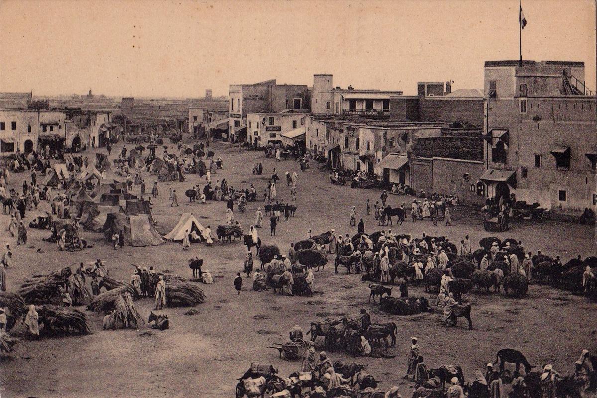 Historique jemaa el fna